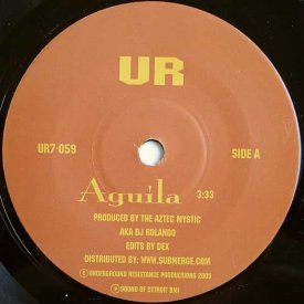 THE AZTEC MYSTIC / Aguila (7 inch)