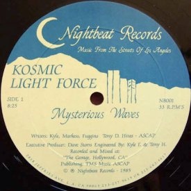 KOSMIC LIGHT FORCE / Mysterious Waves (12 inch)