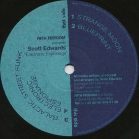 SCOTT EDWARDS / Electronic Espionage (12 inch)