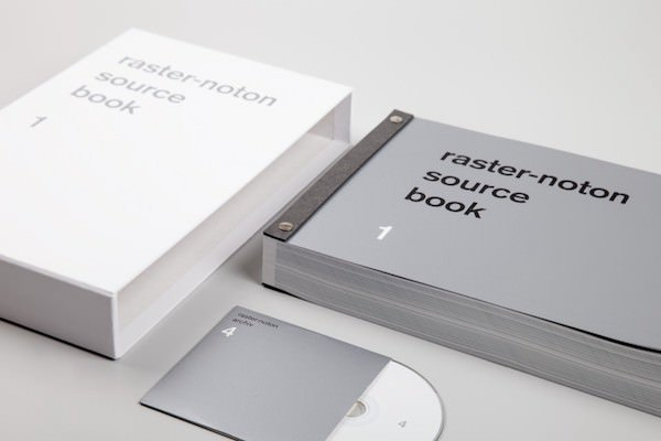 Various / RASTER-NOTON Source Book 1 (Book+CD)