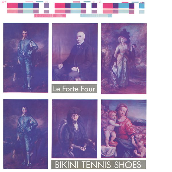 LE FORTE FOUR / Bikini Tennis Shoes (LP)