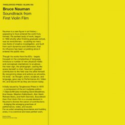 BRUCE NAUMAN / Soundtrack From First Violin Film (LP)