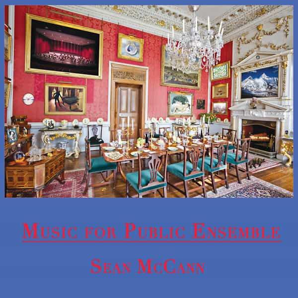SEAN MCCANN / Music For Public Ensemble (2LP+DL) - sleeve image