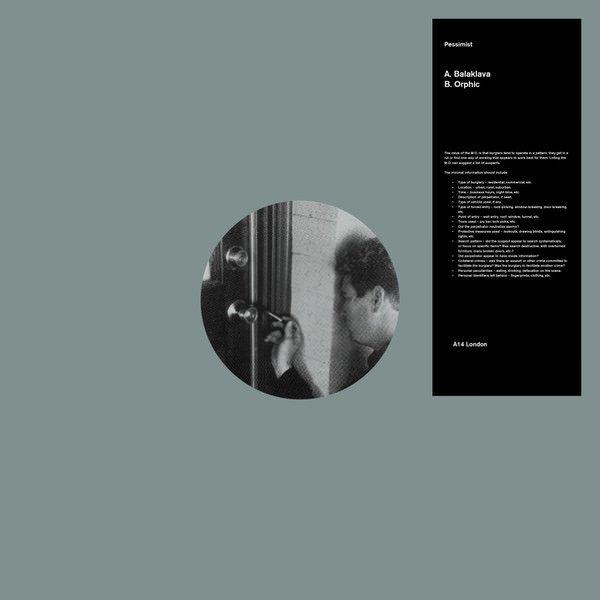 PESSIMIST / Balaklava (12 inch) - sleeve image