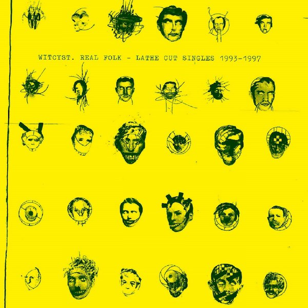 WITCYST / Real Folk - Lathe Cut Singles 1993-1997 (4CD Box)