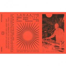 LARAAJI / Vision Songs LIVE! (Cassette)