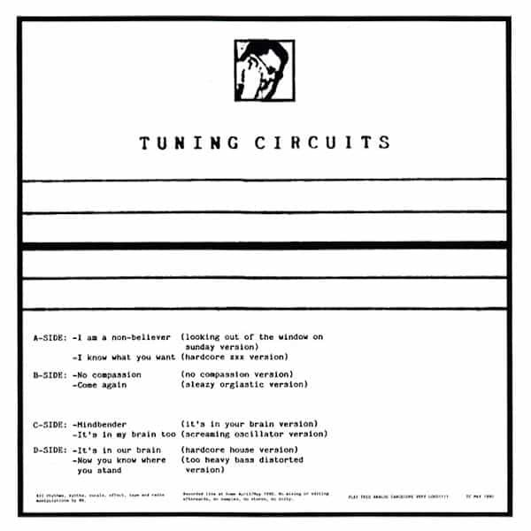 TUNING CIRCUITS / No Compassion (2LP) - sleeve image