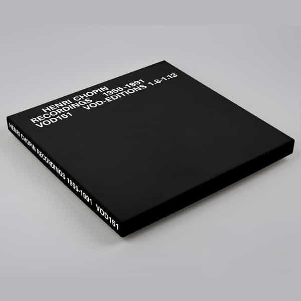 HENRI CHOPIN / Recordings 1955-1991 - Volume 2 (6LP)