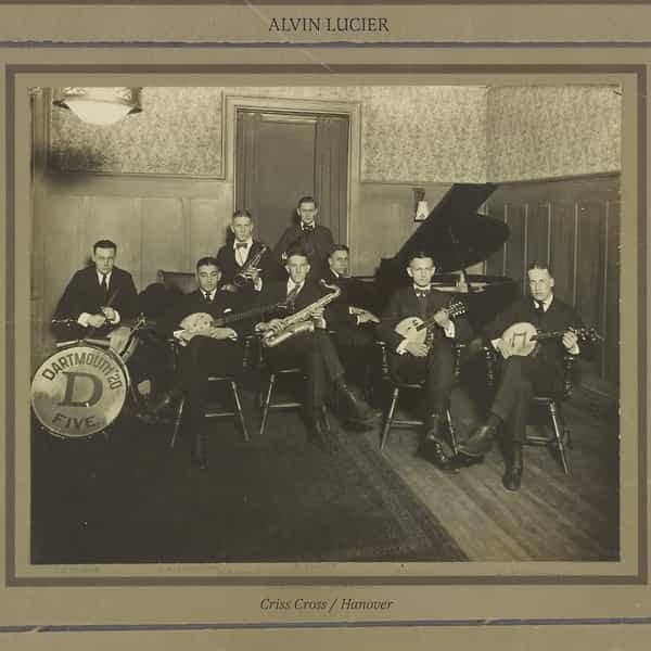 ALVIN LUCIER / Criss Cross / Hanover (LP)