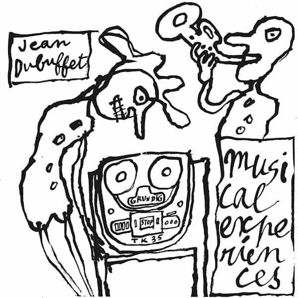 JEAN DUBUFFET / Musical Experiences (LP) Cover