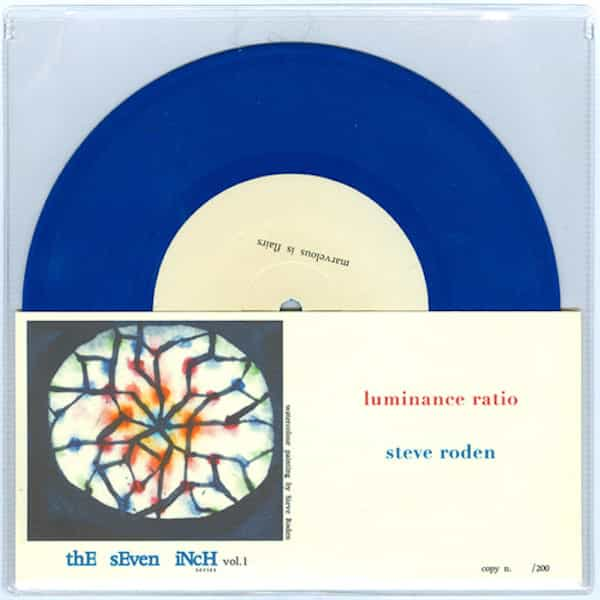 LUMINANCE RATIO / STEVE RODEN - Luminance Ratio / Steve Roden (7