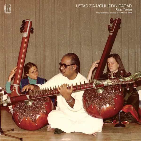 USTAD ZIA MOHIUDDIN DAGAR / Raga Yaman - Rudra Veena // Seattle // 15 March 1986 (2LP)