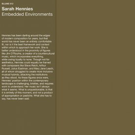 SARAH HENNIES / Embedded Environments (LP)