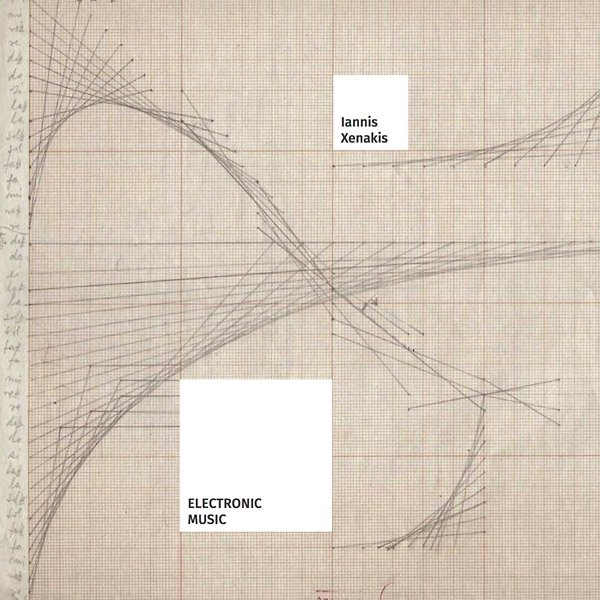 IANNIS XENAKIS / Electronic Music (LP) - sleeve image