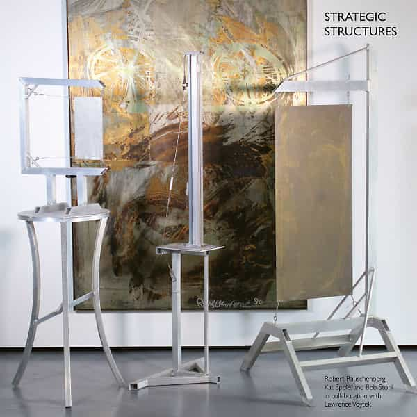 ROBERT RAUSCHENBERG, KAT EPPLE, BOB STOHL, LAWRENCE VOYTEK / Strategic Structures (LP)