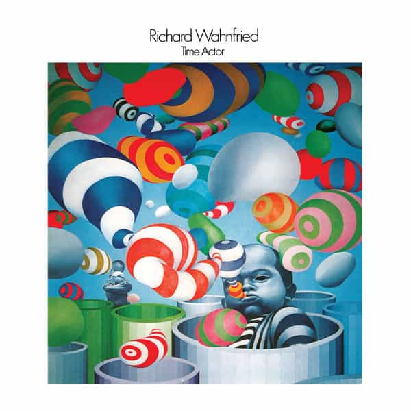 RICHARD WAHNFRIED / Time Actor (2LP) - sleeve image