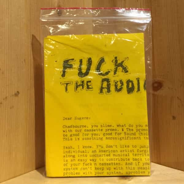 EUGENE CHADBOURNE / Fuck The Audio Evolution Network (Cassette)