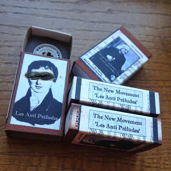 THE NEW MOVEMENT / Les Anti Preludesk (Cassette Reel) - thumbnail
