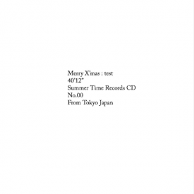 MERRY X'MAS / Test (CD)