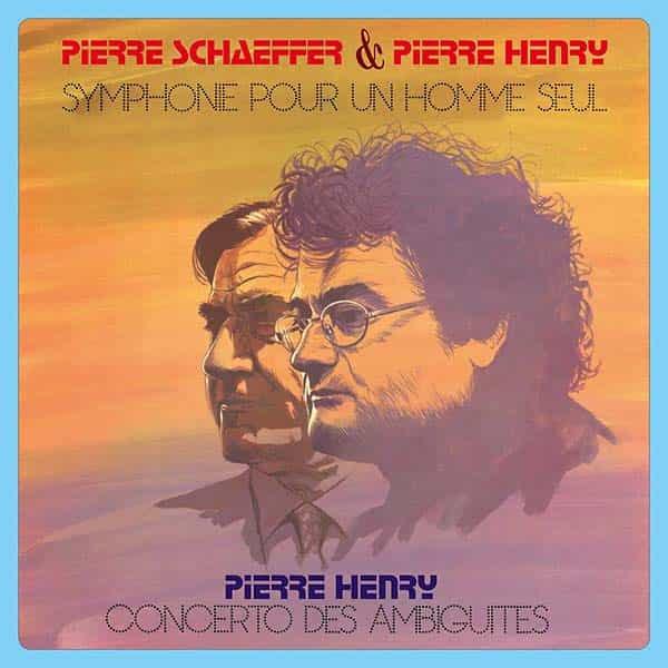 PIERRE SCHAEFFER / PIERRE HENRY / Symphone Pour Un Homme Seul - Concerto Des Ambiguites (LP)