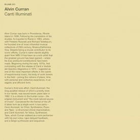 ALVIN CURRAN / Canti Illuminati (LP)