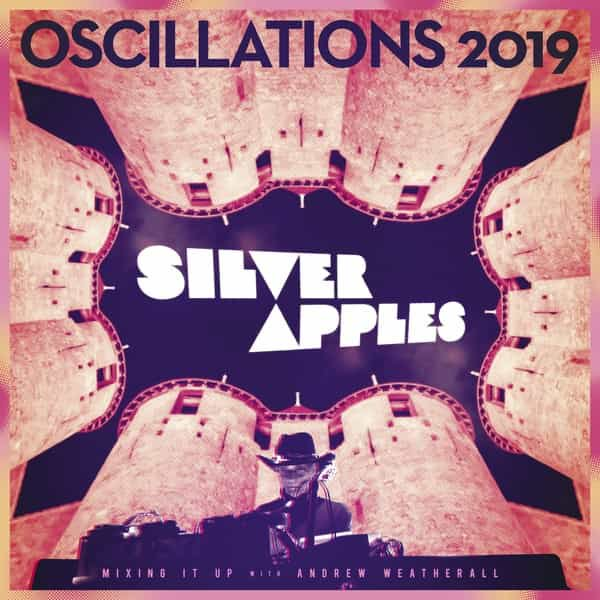 SILVER APPLES / Oscillations (12 inch) - sleeve image