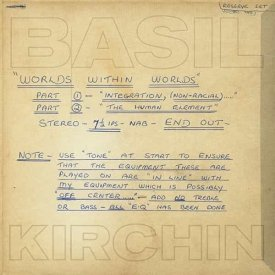 BASIL KIRCHIN / Worlds Within Worlds: Part I And II (LP)