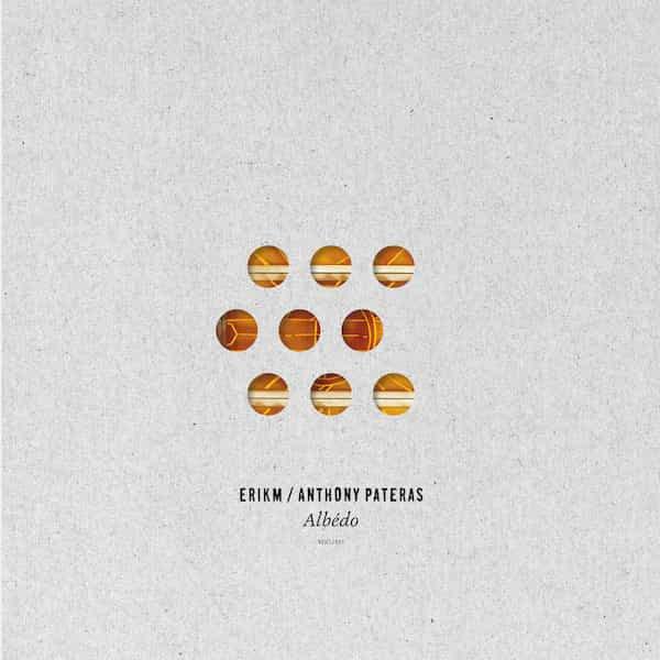 eRikm - ANTHONY PATERAS / Albédo (LP+CD) - sleeve image