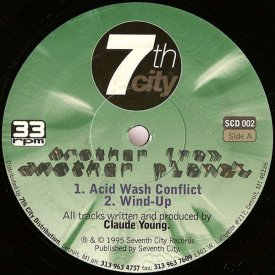 CLAUDE YOUNG / Acid Wash Conflict (12 inch)