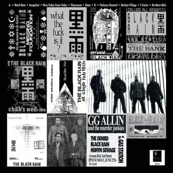 BLACK RAIN / Metal Rain 1989-1993 (LP) - thumbnail