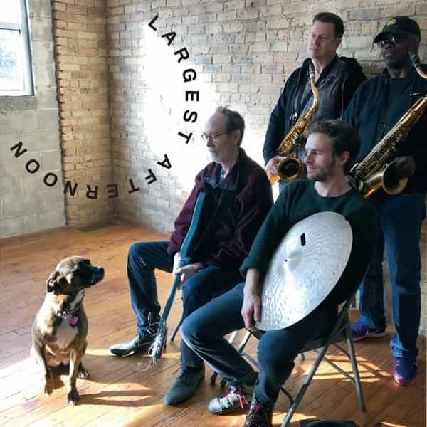 ARTO LINDSAY / JOE MCPHEE / KEN VANDERMARK / PHIL SUDDERBERG / Largest Afternoon (CD)