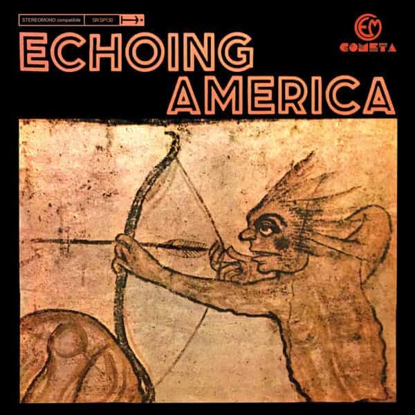 STEFANO TOROSSI, GIOVANNI TOMMASO / Echoing America (LP) - sleeve image