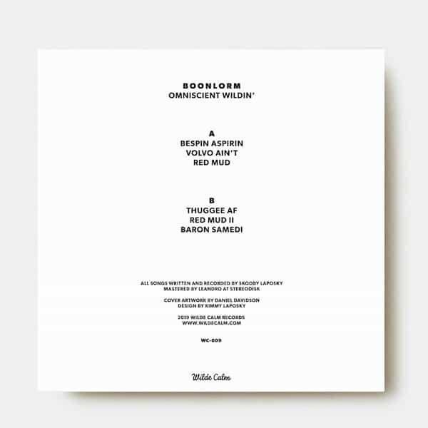 BOONLORM / Omniscient Wildin' (12 inch) - thumbnail