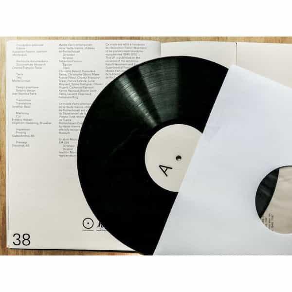 RAOUL HAUSMANN / Poèmes phonétiques (LP) - thumbnail