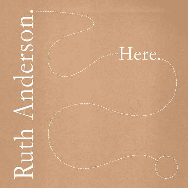RUTH ANDERSON / Here (LP) - sleeve image