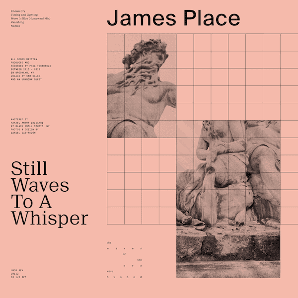 JAMES PLACE / Still Waves To A Whisper (LP+DL) - sleeve image