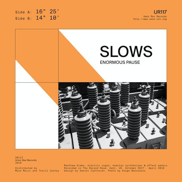 SLOWS / Enormous Pause (Cassette)