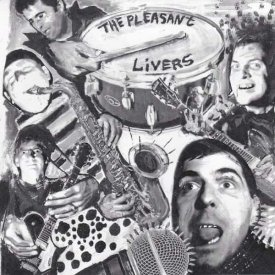 THE PLEASANT LIVERS / From The Land Of Pleasant Living (CD) - sleeve image