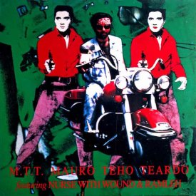 M.T.T. MAURO TEHO TEARDO Featuring NURSE WITH WOUND & RAMLEH / Caught From Behind (LP-used)