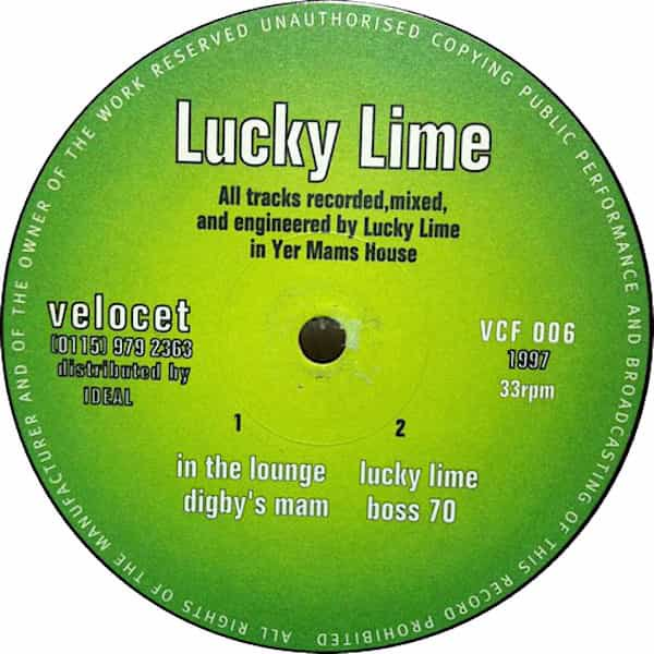 LUCKY LIME / In The Lounge (12 inch-used) - sleeve image