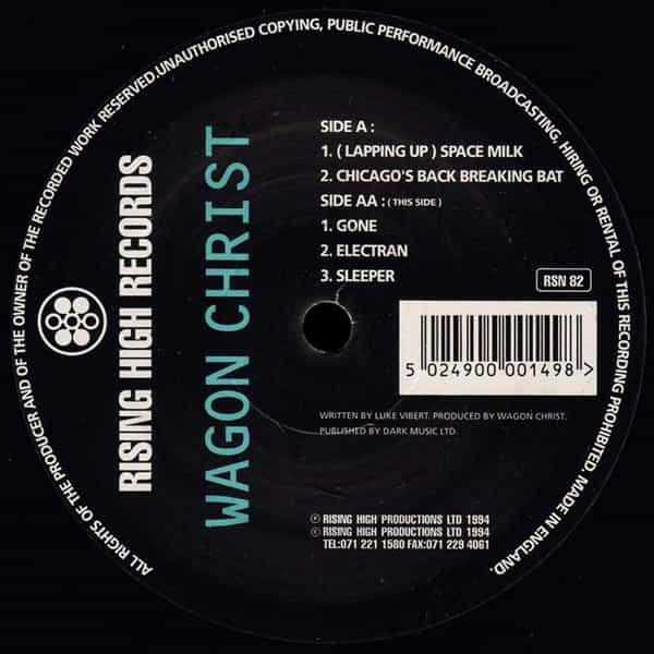 WAGON CHRIST / Sunset Boulevard EP (12 inch-used) - sleeve image