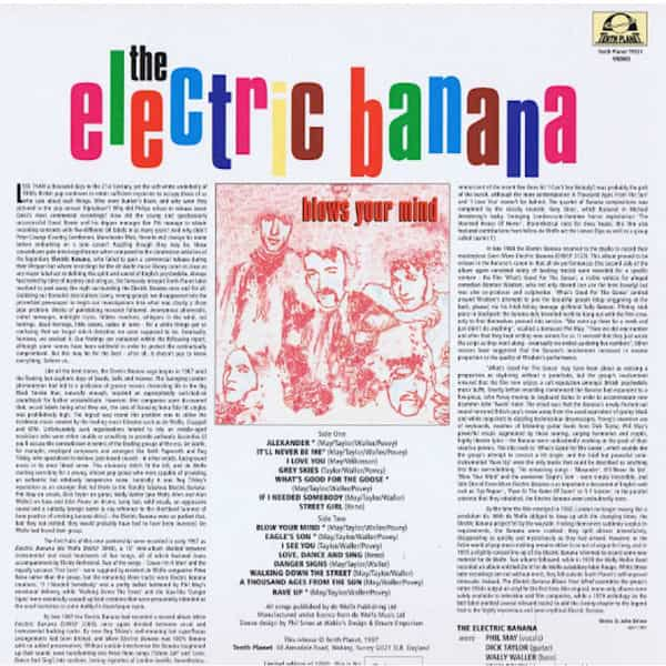 THE ELECTRIC BANANA / Blows Your Mind (LP-used) - thumbnail