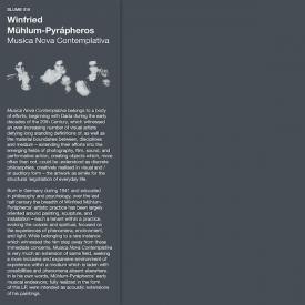 WINFRIED MUHLUM-PYRAPHEROS / Musica Nova Contemplativa (LP)