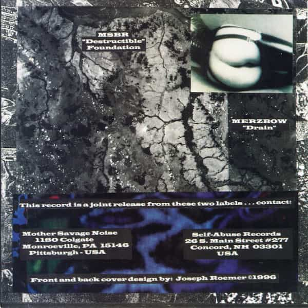 MSBR - Destructible Foundation / MERZBOW - Drain (7 inch) - thumbnail
