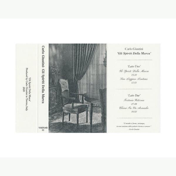 CARLO GIUSTINI / Gli Spiriti Della Marca (Cassette) - thumbnail