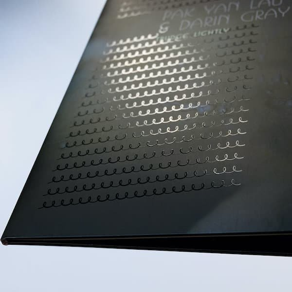 PAK YAN LAU & DARIN GRAY / Trudge Lightly (2x10 inch) - thumbnail