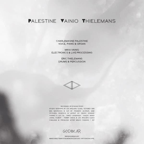 CHARLEMAGNE PALESTINE, MIKA VAINIO, ERIC THIELEMANS / P V T (LP) - thumbnail