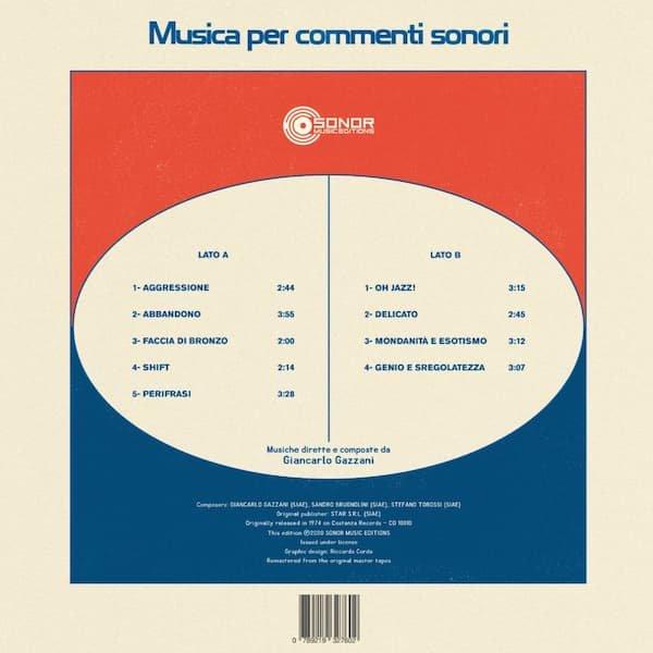 GIANCARLO GAZZANI / Musica Per Commenti Sonori (LP) - thumbnail
