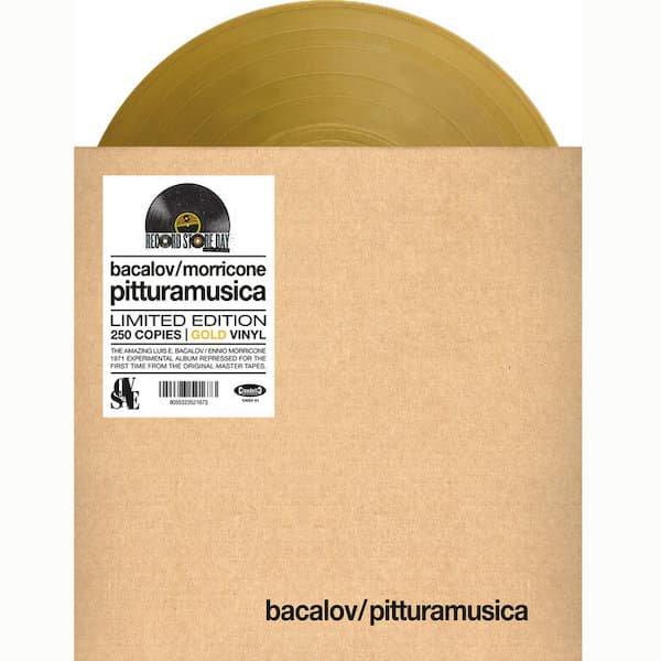 LUIS BACALOV, ENNIO MORRICONE / Pitturamusica (LP - Gold Vinyl) - thumbnail