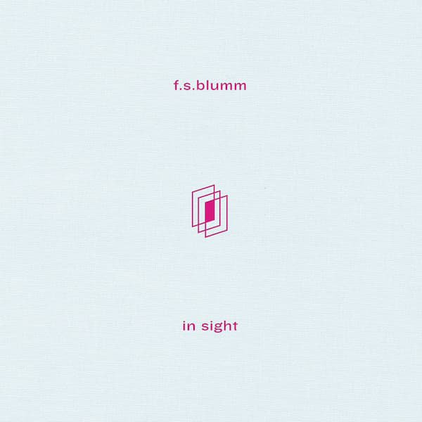 F.S. BLUMM / In Sight (CD ltd./LP ltd.)